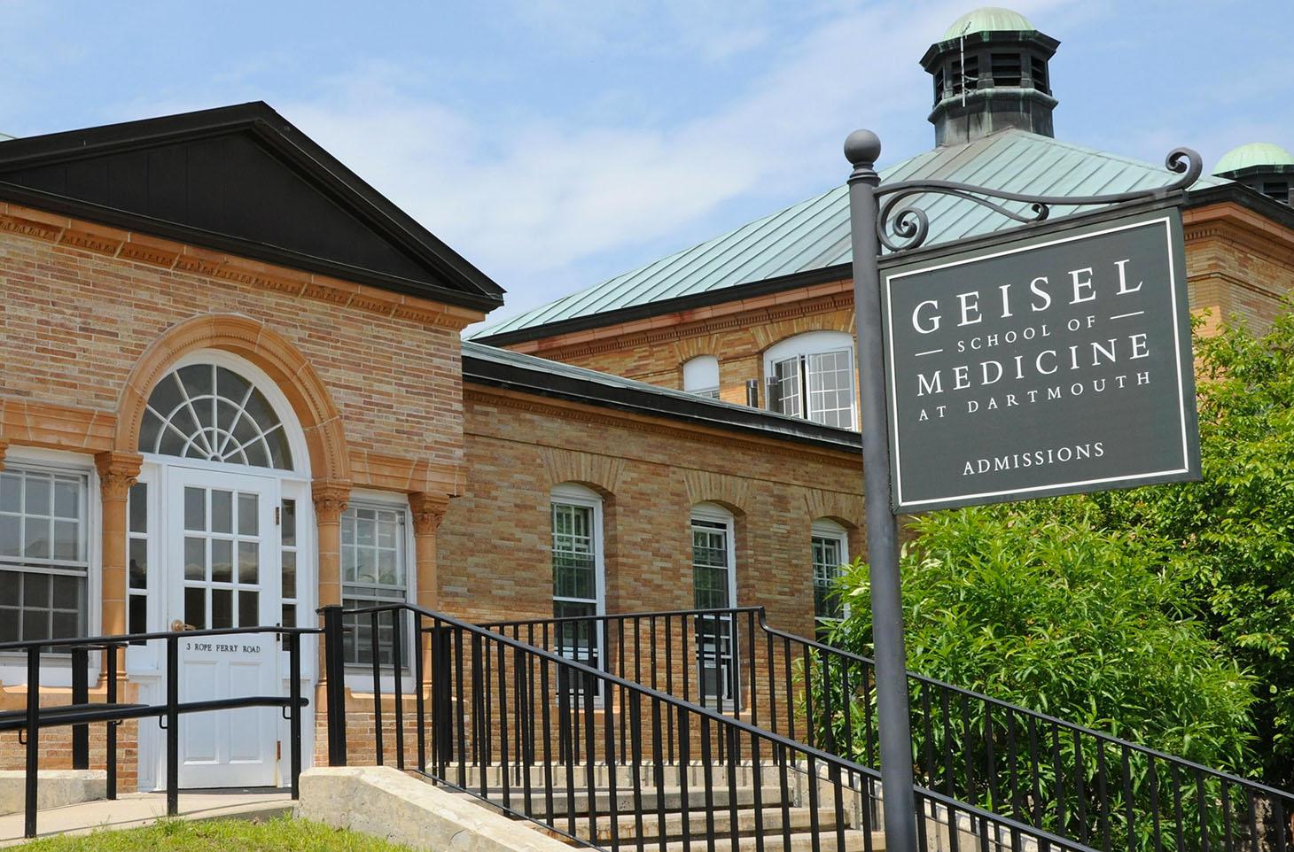 Geisel School of Medicine Admissions