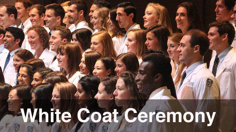 Students Receiving their White Coats