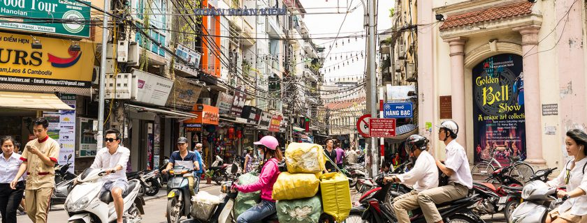 Hanoi, Vietnam (photo: Shutterstock)