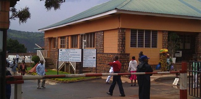 The teaching hospital in Kigali, Rwanda, where Steven Bensen helped to train physicians in gastroenterology.