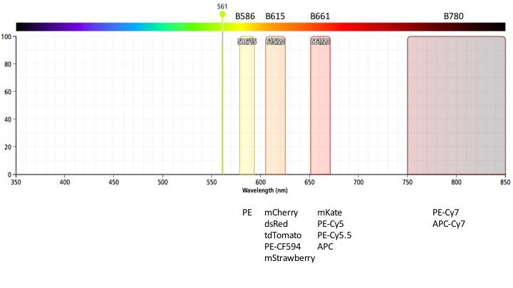 MQ-VYB yellow laser filters