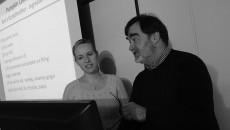 Kim Betts and Robert Santulli