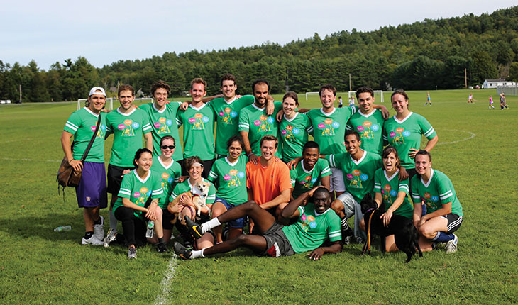 The second-years defeated the first-years 2-0 in the latest Swenson Cup. Photo by Spencer James.