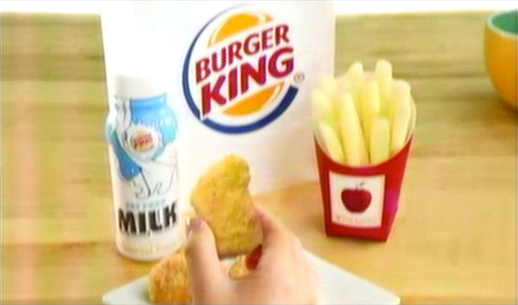 Fast Food Giants' Ads for Healthier Kids Meals Don't Send the Right Message