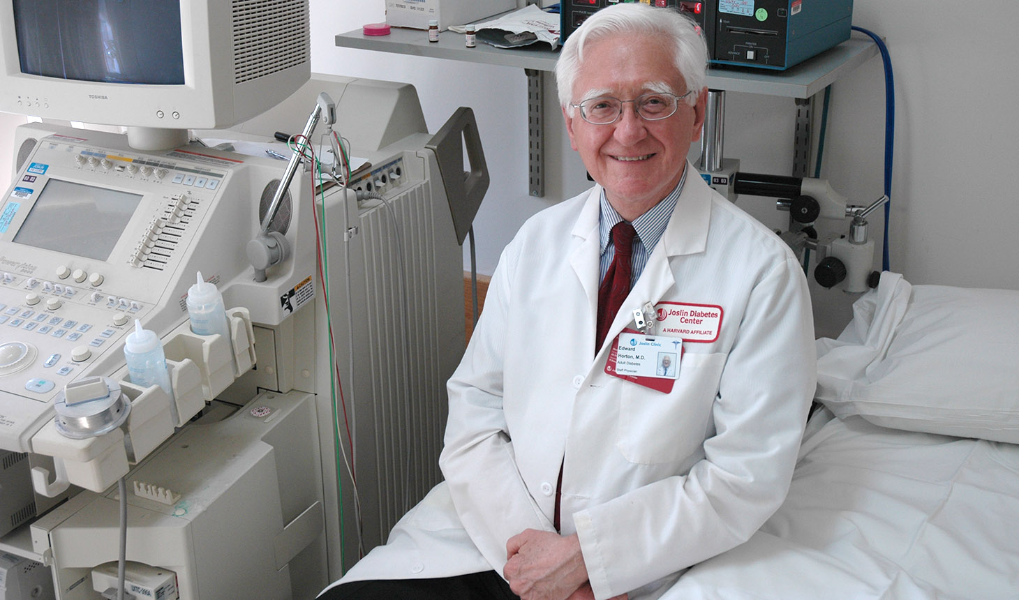 Dr. Edward Horton at the Joslin Diabetes Center in Boston, Mass.