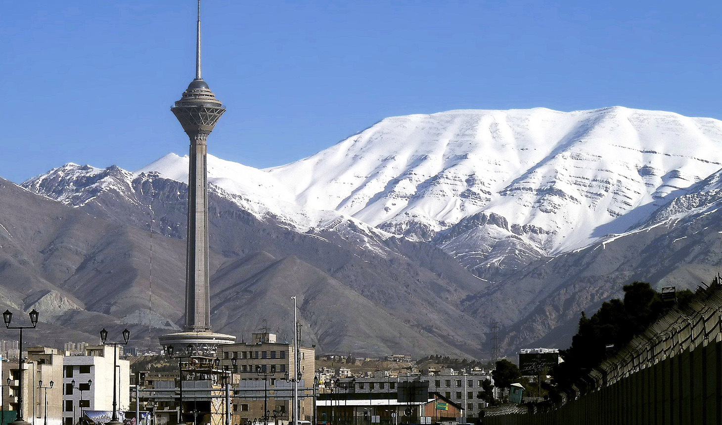 Tehran, Iran, is home to the country's National Research Institute on Tuberculosis and Lung Diseases. Photo from Flickr/Javad Saharban, CC 2.0.