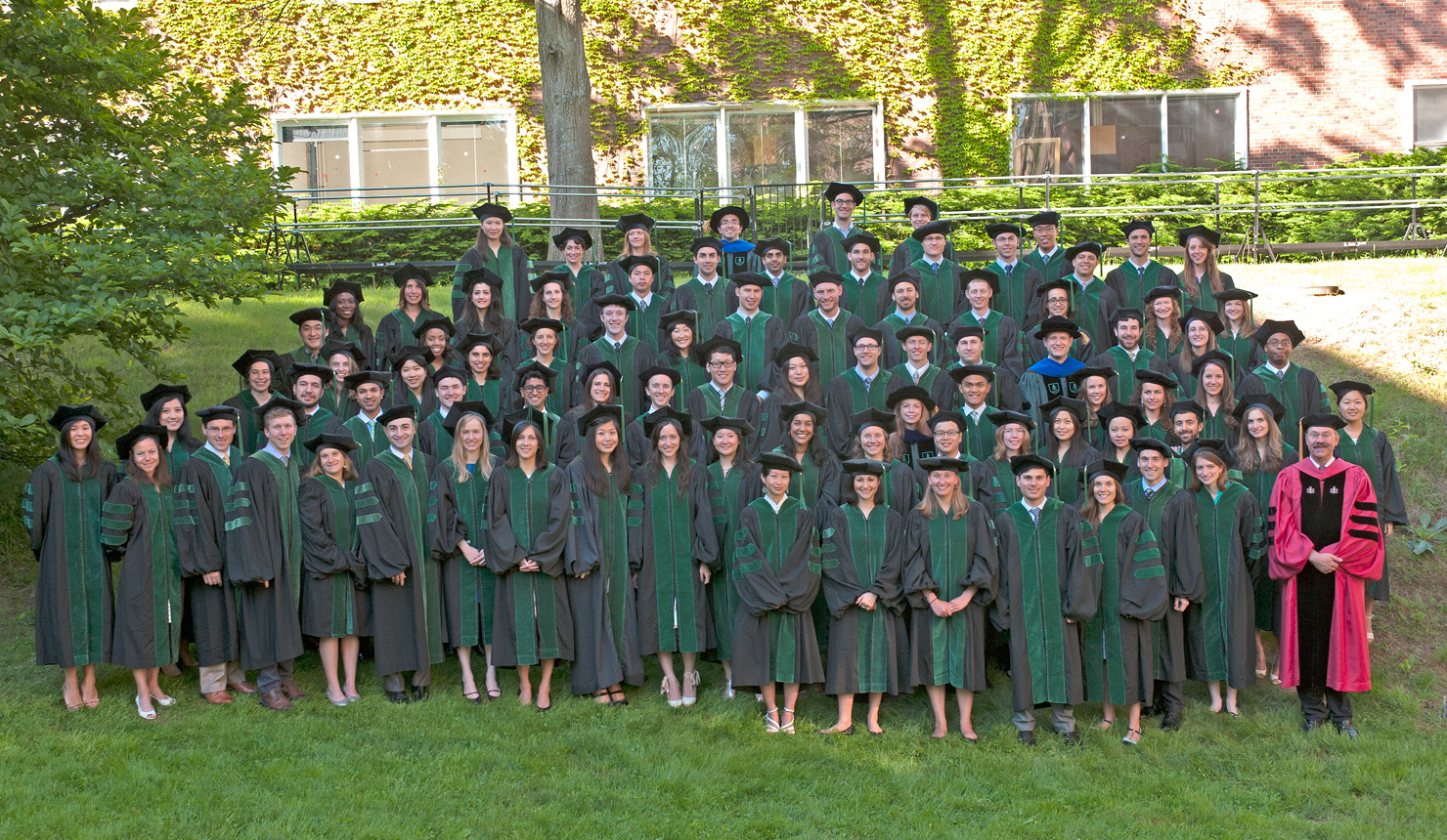 The MD graduates at the 2014 Class Day ceremony.