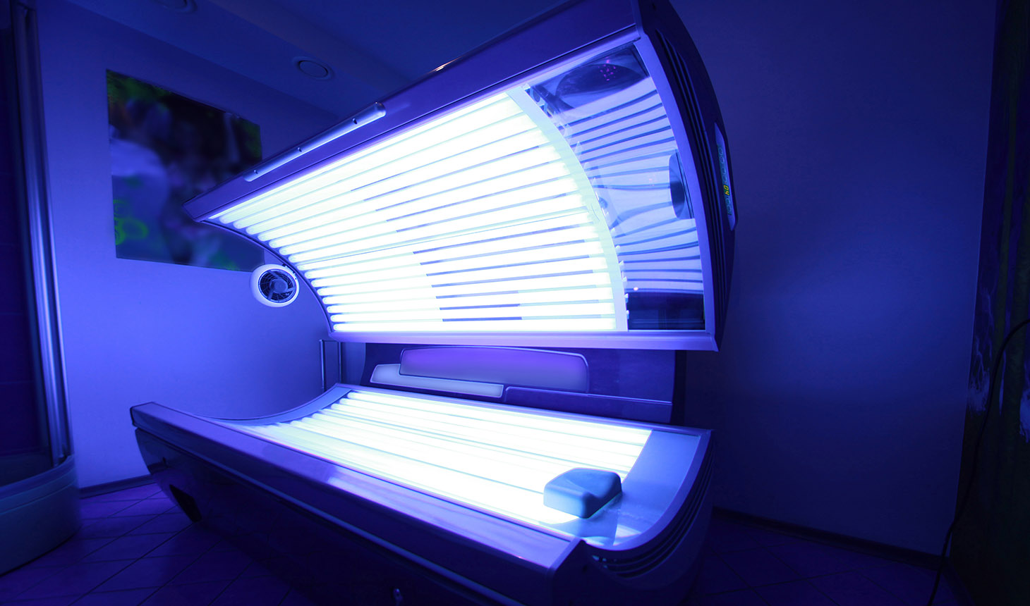 Image of Tanning booth
