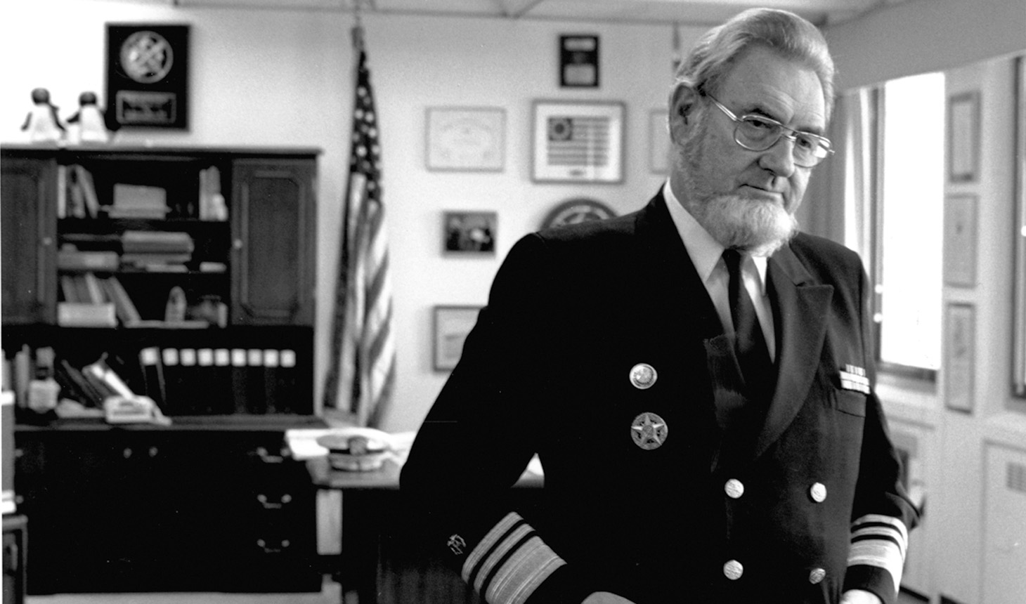 Lila May Walkden Flounders' support of the Koop Institute was inspired by Dr. C. Everett Koop's willingness to take on big challenges and confront powerful interests as Surgeon General in the 1980s.