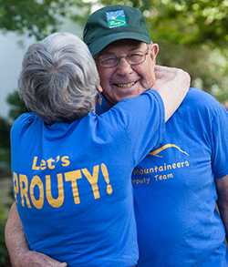 "Merle and Helen Schotanus will ride what they call the ""octogenarian 20"" in this year's Prouty"