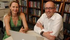 Sienna Craig and Tim Lahey