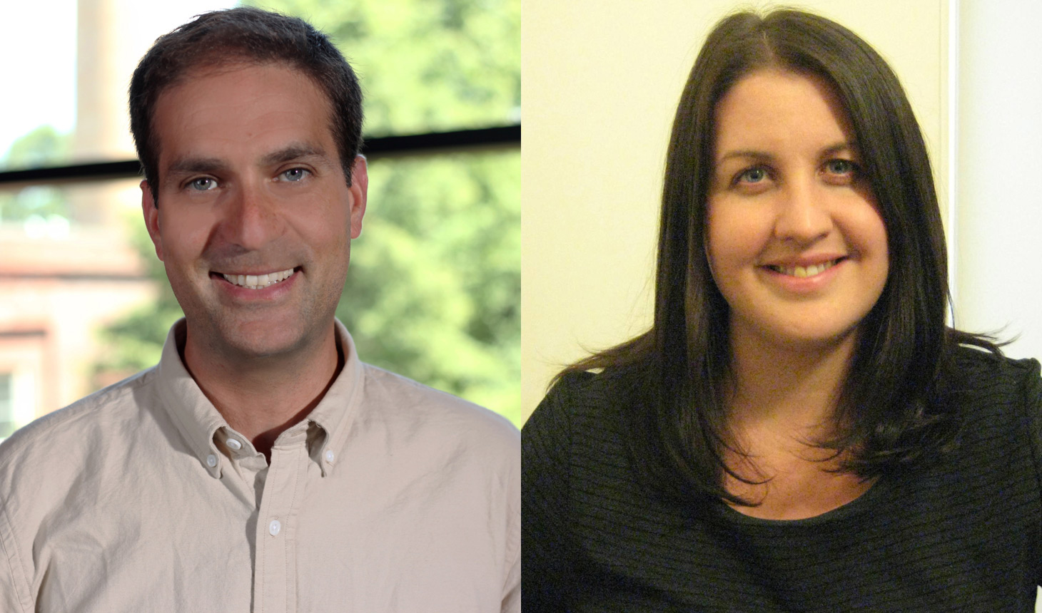 Dror Ben-Zeev, PhD (left), and Rachel Thompson, PhD (right), received awards from the Patient-Centered Outcomes Research Institute (PCORI) to support their research.
