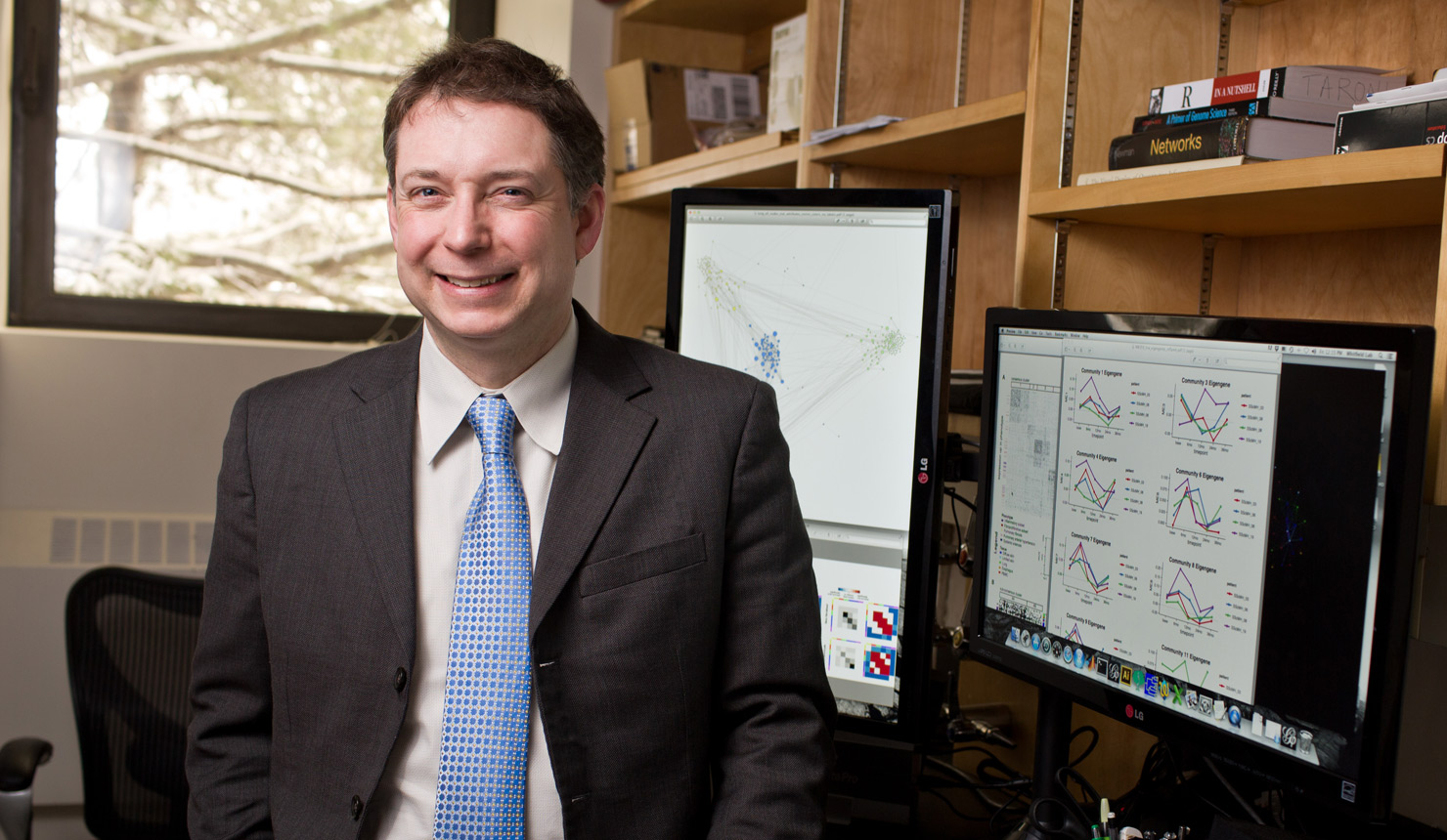 Michael Whitfield, PhD, a translational genetics researcher at Dartmouth's Geisel School of Medicine. Photo credit: Rob Strong.