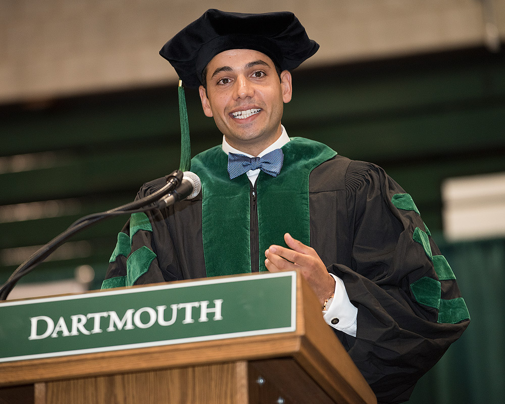 Student speaker Massimo G. Tarulli (Photo by Flying Squirrel Photography)