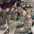 Space Eyes Team on NASA C-9