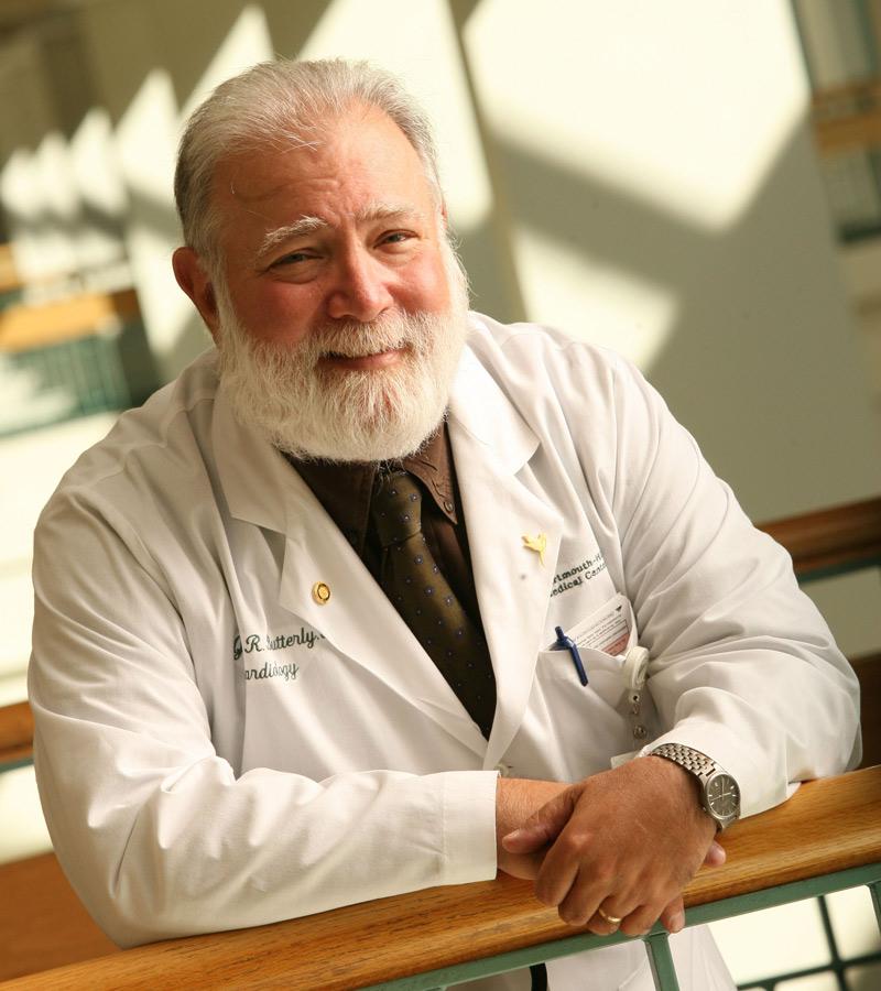 John R. Butterly, MD, FACP, FACC (photo: DHMC)