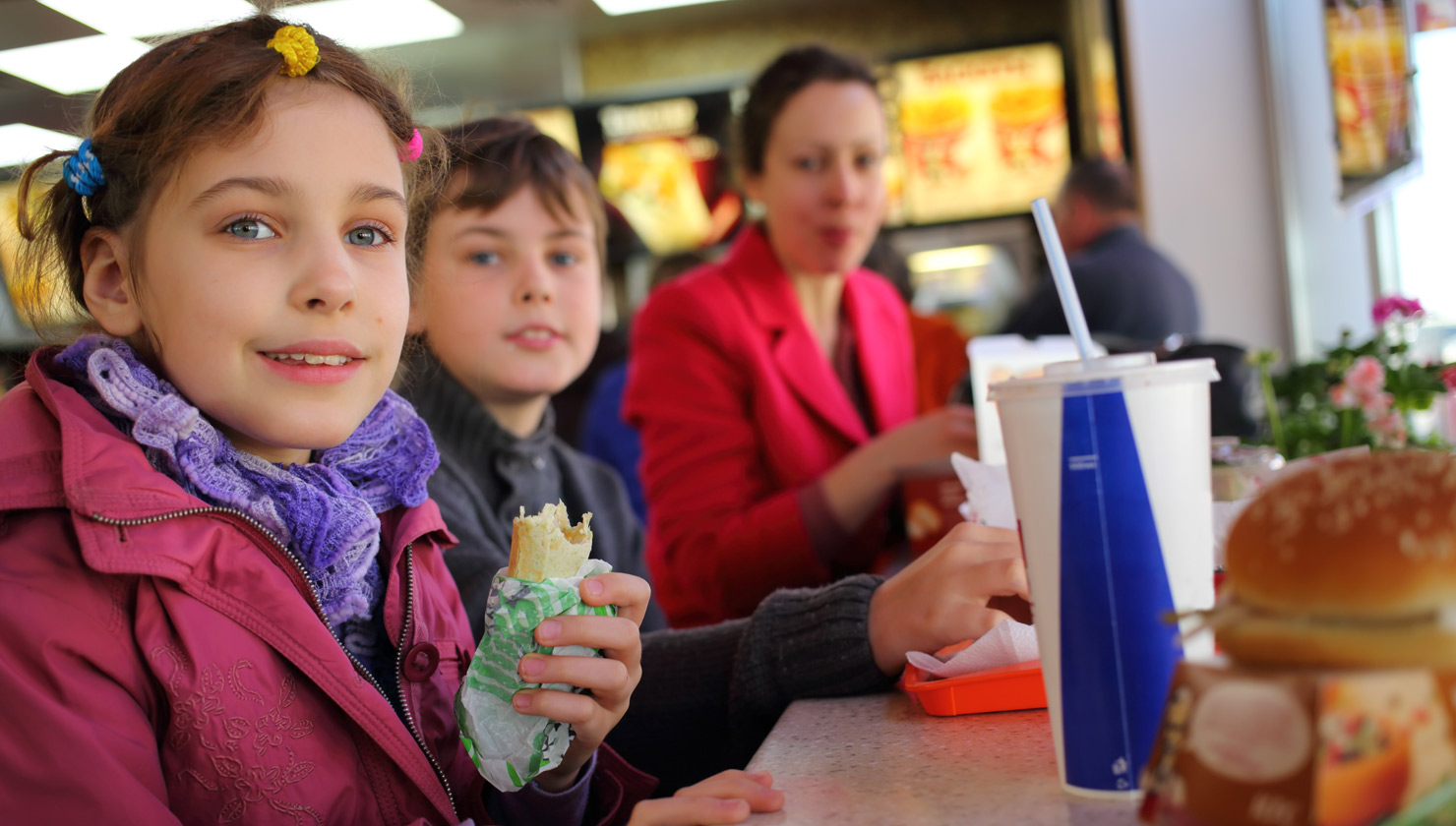 Kids Meals, Toys, and TV Ads Can Lead to More Frequent Fast Food Visits