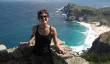 Kristen Delwiche '19 on a trip to Cape Town, South Africa.