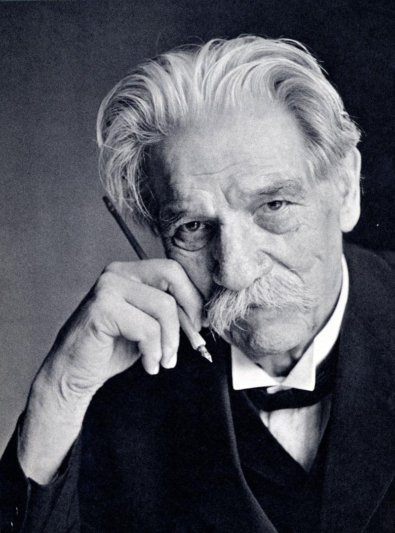 Physician-humanitarian Dr. Albert Schweitzer