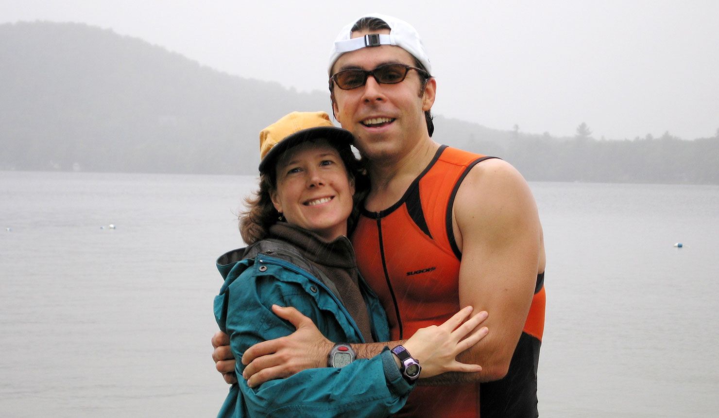 Michael Gleeson MD-PhD '10, once disabled by reactive arthritis, regained his health with the right medical care and the help of his wife, Kirsten (left). His experience inspired him to become a physician-researcher.