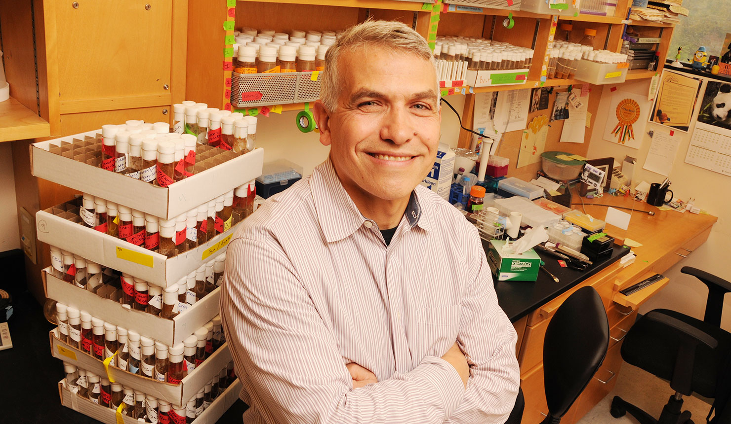 Giovanni Bosco, PhD (Photo by Jon Gilbert Fox)