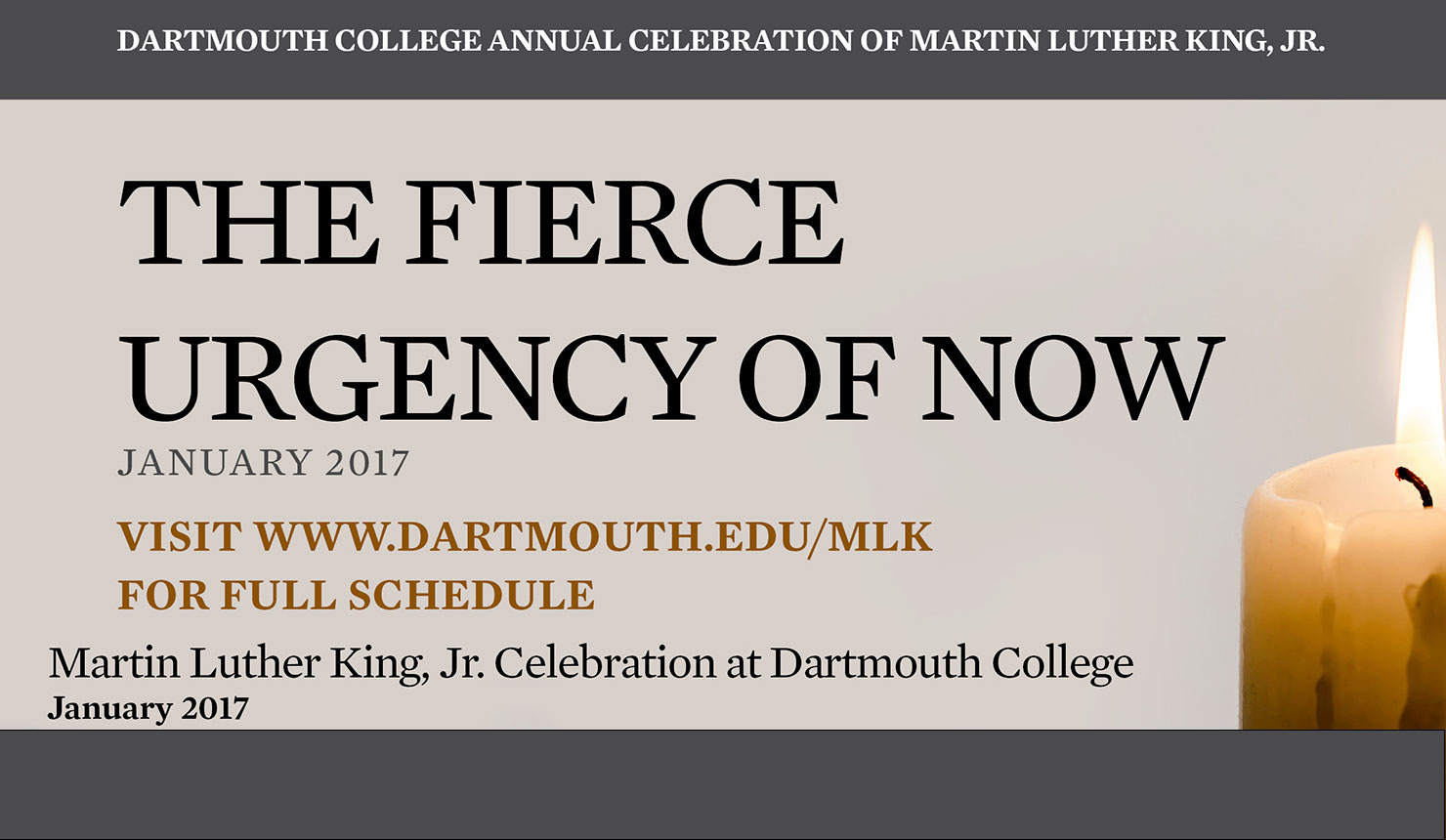 Save the Date – 2017 Martin Luther King, Jr. Celebration