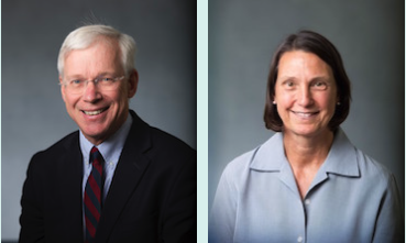 Stephen Bartels, MD, MS and Sally Kraft, MD, MPH co-directors of the SYNERGY Community Engagement Research Core.