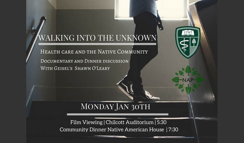 "EVENT: ""Walking Into the Unknown,"" Native American Health Film & Discussion on Jan. 30"