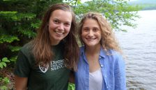 Celestine Warren '20 (left) and Lauren Kascak '20 (right) are the inaugural Swigart Fellows.