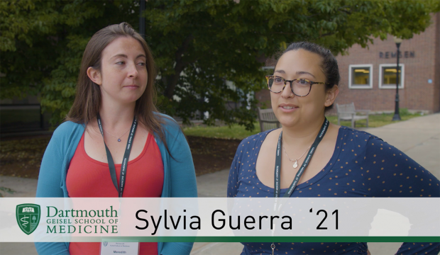 First-year medical students Sylvia Guerra and Meredith Ryan share their thoughts about what makes the Geisel community and its admissions process stand out.