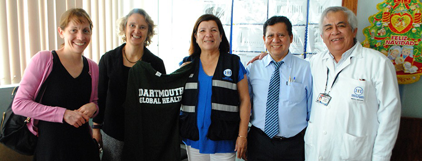 Geisel Renews Partnership Agreement with Peruvian Hospital