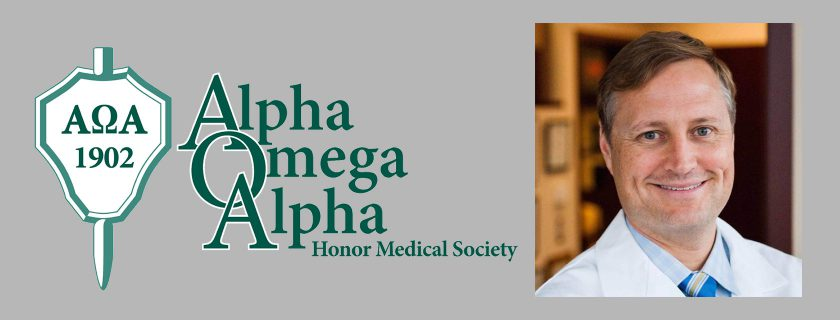 Alumnus to Give Inaugural Alpha Omega Alpha Visiting Professorship Address May 29