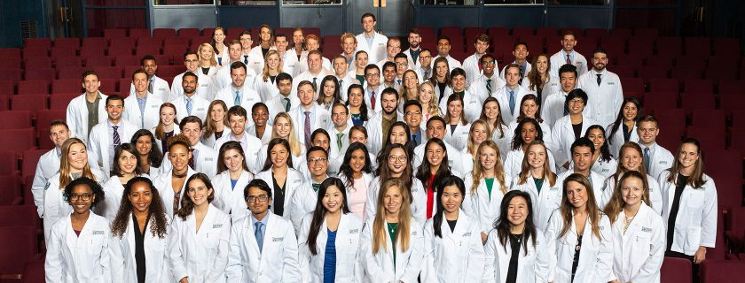 The Geisel MD Class of '22 (photo by Rob Strong)
