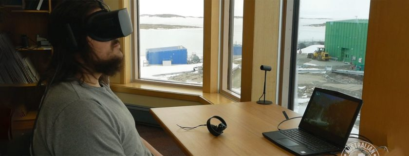 Virtual Reality Research Supports Expeditions in Antarctica, Future Explorations in Space