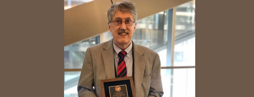 Bruce Riddle Recognized by Cancer Registry Community
