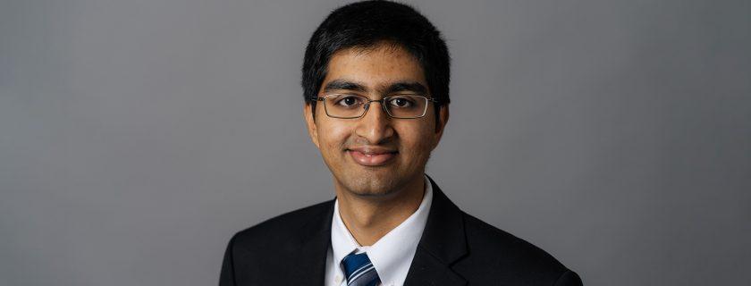 Geisel School of Medicine Student Arvind Suresh Receives Prestigious Public Health Service Award
